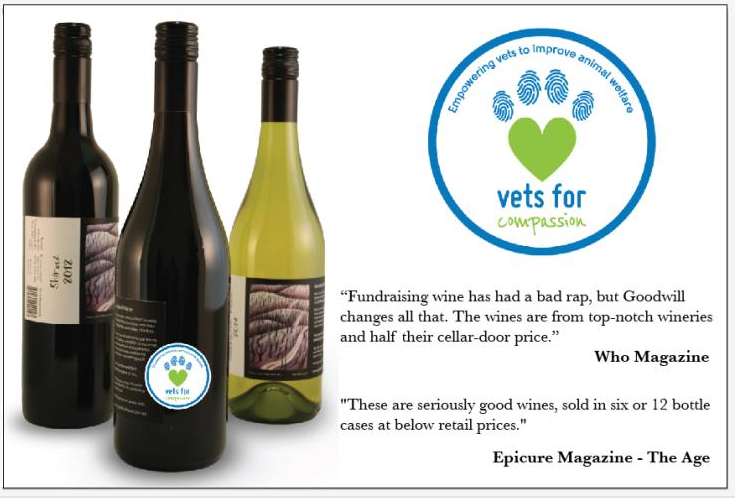 Vets For Compassion charity wine