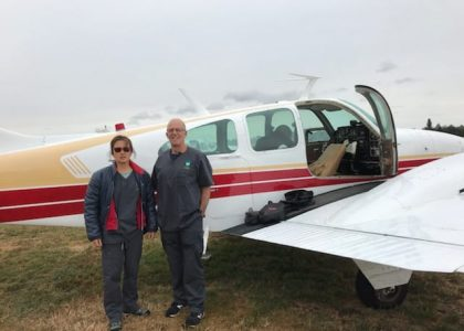 Bound for fire devastated Mallacoota and Tallangata